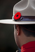 Rcmp Hat Posters - Remembrance Day Poster by Chris Dutton