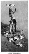 Remington: Buffalo, 1892 Print by Granger