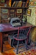 Remington Metal Prints - Remington Noiseless No 6 Typewriter Metal Print by Susan Candelario