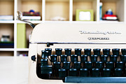 Typewriter Photos - Remington Quiet-Riter by Eric Ziegler
