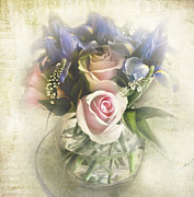 Wedding Bouquet Prints - Reminiscence Print by Elena Nosyreva