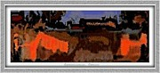 Winter Scenes Rural Scenes Digital Art Framed Prints - Reminiscences Framed Print by Pemaro