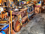 Old Saws Prints - Remnants From The Past Print by Armand  Roux - Northern Point Photography
