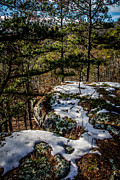 National Recreation Areas Prints - Remnants of Winter Print by Jim McCain