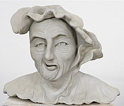 Man Sculpture Prints - Renaissance Man Print by Ruth Edward Anderson
