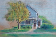 Old House Mixed Media - Renees House by Sarah Vandenbusch