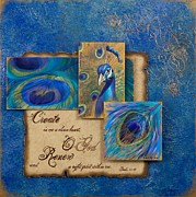 Chris Brandley Paintings - Renewal by Chris Brandley  Charice Cooper   Jane Metz