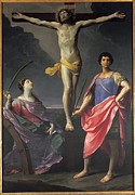 Catherine Wheel Prints - Reni Guido, Jesus Christ Crucified Print by Everett