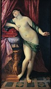 Drapery Prints - Reni Guido, The Suicide Of Cleopatra Print by Everett