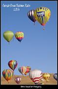 Reno Balloon Race 2013 Print by Bobbee Rickard
