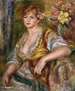 Pictur Metal Prints - Renoirpierre-auguste 1841-1919. Blonde Metal Print by Everett