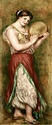 Dancing Girl Prints - Renoirpierre-auguste 1841-1919. Dancing Print by Everett