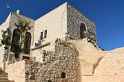 Renovation Framed Prints - Renovated House in Taybeh Framed Print by Munir Alawi