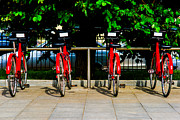 Positive Image Prints - Rent-a-Bike - Featured 3 Print by Alexander Senin