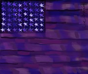 Us Capital Posters - Representational Flag 2 Poster by Eric  Schiabor
