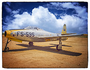 Oldzero Photos - Republic F-84C Thunderjet by Steve Benefiel