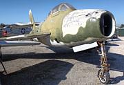 Republic Thunderstreak F-84f Print by Gregory Dyer