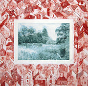 Townscape Mixed Media - Requiem to an Orchard by Inge Wright