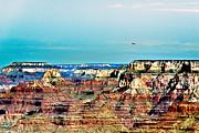 Rescue Lipan Point  Grand Canyon Print by  Bob and Nadine Johnston