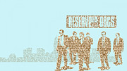 Reservoir Dogs Digital Art - Reservoir dogs montage by David  Jones