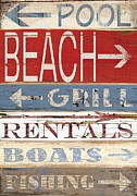 Grace Pullen - Resort Beach sign