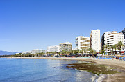Property Prints - Resort City of Marbella in Spain Print by Artur Bogacki
