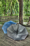 Respite Photos - Respite from the Rain 1 Hangzhou China by Rob Huntley
