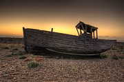 Shingle Beach Prints - Rested Five Print by Jason Green