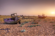 Shingle Beach Prints - Rested Two Print by Jason Green