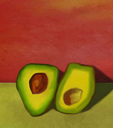 Avocados Prints - Resting and Waiting I Print by Emily Brown