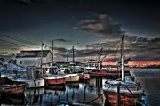 Fishing House Posters - Resting Poster by Erik Brede