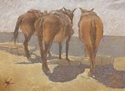 Suzie Majikol-Maier - Resting Mules
