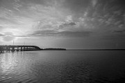 Palatka Bridge Prints - Restorative Waters Print by Toni Hopper