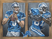 Detroit Lions Paintings - Restore the Roar by David Courson