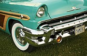 Shelley Myke Prints - Restored 1956 Mercury  Print by Inspired Nature Photography By Shelley Myke