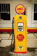 Sue Smith - Restored Shell Pump on...