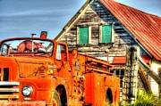 Barnboard Prints - Retired Print by Mark Bowmer