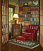Library Photo Framed Prints - Retreat Framed Print by Gwyn Newcombe