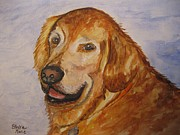 Stella Sherman - Retriever in His Golden...