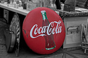 Coca-cola Sign Art - Retro Coca-Cola by Suzanne Stout