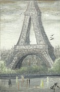 Irina Cumberland - Retro Eiffel tower 