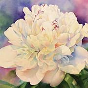 Retro Petals Print by Zeana Romanovna