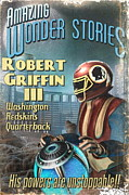 Book Cover Drawings - Retro Sci Fi RG3 by Paul Van Scott