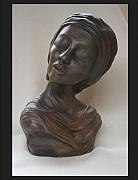 Bronze Sculpture Originals Reliefs - Retro by Tomi LaPierre