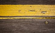 Tim Hester Prints - Retro Wood Stripe Print by Tim Hester