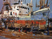 Boats Paintings - Retrofit by Brian Simons