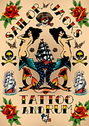 Viv Griffiths - RetroTattoo Poster