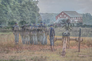 Confederate Monument Prints - Return to Gettysburg Print by Randy Steele