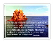 Itself Framed Prints - Return to Source - Infinite - James Allen  Framed Print by Barbara Griffin
