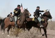 Horse Photos - Returning Fire by Joe Kozlowski